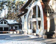 Art Nouveau Style House Villa Liberty Moscow, Russia,Art Nouveau Style House, Art Nouveau interior Design