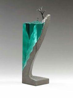 Hormigón y cristal