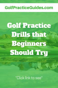 try these fun, challenging golf drills for beginners #golf #golfdrills Golf Clubs For Beginners, Golf Practice, Drills, Training Programs, How To Plan, Game, Fun, Ideas, Workout Programs