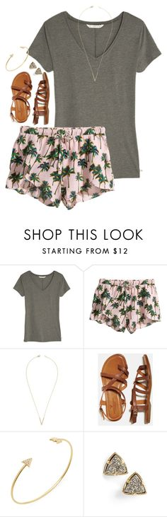 """""""there are lies we believe and truths that set us free"""" by preppy-classy ❤ liked on Polyvore featuring Victoria's Secret, H&M, Jeweliq, American Eagle Outfitters, Meira T and Kendra Scott"""