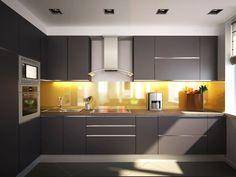 Descubra fotos de Cozinhas minimalistas por Polovets & Tymoshenko design studio. Veja fotos com as melhores ideias e inspirações para criar uma casa perfeita.
