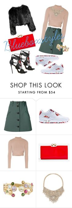 York - she chills, she kills. by bluebox1994 on Polyvore featuring Jonathan Simkhai, Chloé, NIKE, Dsquared2, Ted Baker, Bebe, Marco Bicego, Disturbia, NewYorkStyle and blueboxstyles