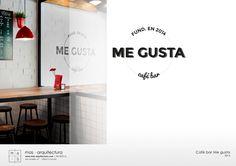 Café Bar Me Gusta _ Diseño de interiorismo e imagen por mas·arquitectura. #interiordesing #architecture #design #diseño #interiorismo #arquitectura #masarquitectura #furniture #furnituredesing #mobiliario #branding