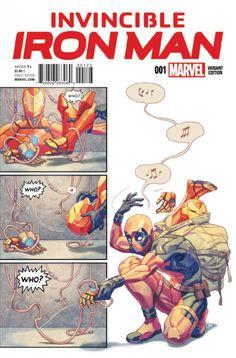 Invincible Iron Man #1, la preview   COMICSBLOG.fr