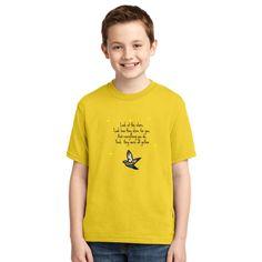 Yellow Lyrics Youth T-shirt