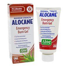 Alocane Maximum Strength Emergency Room Burn Gel, 2.5 Fluid Ounce Alocane http://www.amazon.com/dp/B00EM4G7LG/ref=cm_sw_r_pi_dp_zAjEwb06F8ERE