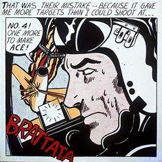 Brattata - Roy Lichtenstein - - Pop Art, 1962