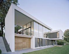 모던스타일 주택 by Schiller Architektur BDA