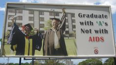 Don't graduate with AIDS. Seen in Dar es Salaam, Tanzania. Crazy Funny Pictures, Funny Images, Funny Pics, Wtf Funny, Hilarious, Funny Shit, College Life, Good Advice, Tanzania