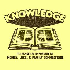 Knowledge Women's Tee Lemon  by BustedTees via Fab. Mitt Romney is living proof of this lol.