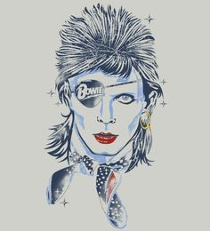 David Bowie t-shirt - #Reverbcity - http://www.reverbcity.com/: