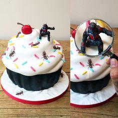Tatooed Bakers | Ant Man Cake