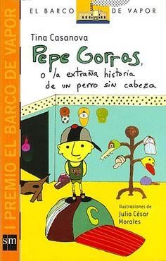 Excelente libro infantil/juvenil de la gran Tina Casanova!