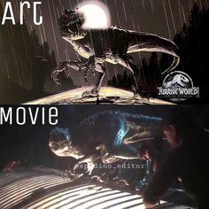 Jurassic World Movie, Jurassic Park Series, Jurassic World Fallen Kingdom, Cgi, Indominus Rex, World Movies, Spinosaurus, Dragon's Lair, Falling Kingdoms