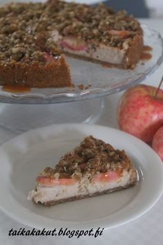 Tarun Taikakakut: Paistettu omena-murujuustokakku (24cm)