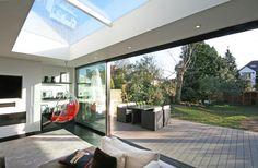 Living Room Inside Outside, Open Up, Living Room, Outdoor Decor, Home Decor, Interior Design, Decoration Home, Room Decor, Home Living Room