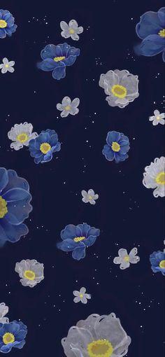 Flower Iphone Wallpaper, Vintage Flowers Wallpaper, Cute Patterns Wallpaper, Iphone Background Wallpaper, Butterfly Wallpaper, Aesthetic Pastel Wallpaper, Scenery Wallpaper, Kawaii Wallpaper, Black Phone Wallpaper
