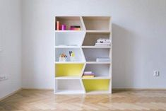 Exceptionally Attractive Kids Bookcase And Child Learning Facilities Design Ideas: Amusing Modern Bookshelves Inspiration Exquisite Bookshelves With Brown Wooden Flooring And White Wall Color Also Kids Bookcase Designs Ideas