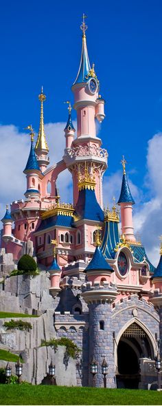I've got a mansion just over the hilltop- And it's going to look like a Disney Castle ;)