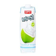 UFC Coconut Merchant UFC Refresh Coconut Water 1L - UFC Refresh Coconut Water is an amazing way to stay fresh so you can capture every moment of your day. Refresh with essential electrolytes - potassium. Our Refresh line is perfect for people who are f http://www.MightGet.com/january-2017-11/ufc-coconut-merchant-ufc-refresh-coconut-water-1l-.asp