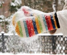 ~ warm woolen mittens ~ I remember my mom sending me to the corner store with a list in one mitten & money in the other ~ oh what an adventure ~ I Love Snow, I Love Winter, Winter Fun, Winter Snow, Winter Season, Winter Christmas, Snow Fun, Winter Cabin, Long Winter
