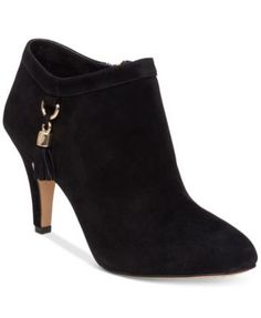 Vince Camuto Vecka Booties $129.00 Vince Camuto's Vecka booties evoke runway style with a sleek silhouette and a heel that is fit for any occasion.