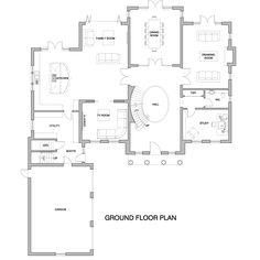 St. Cloud - Ground Floor Plans