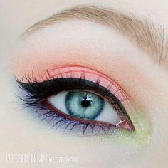 Dressed in Mint: make up. - Sleek Del Mar Vol. 1 + ROZDANIE