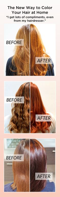 Forget about choosing between a half dozen hair colors at the drugstore - try this DIY hair color instead. EVERY shade is custom-blended, over 160,000 unique colors to date!