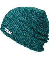 $18.95 buy one get one 50% off -- Neff Daily Heather Green & Black Beanie