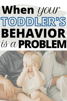 How to know when your toddler's behavior is a problem...including examples! Children need structure and boundaries in order to keep them safe from danger. Here's how to make a plan! #toddlerbehavior #toddlerdiscipline #toddler #behaviorproblem