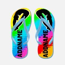 Diving Star Flip Flops Calling all Divers! Terrific Girl's Diving personalized flip flops to encourage your competitive Diver. http://www.cafepress.com/sportsstar/13516535 #GirlDiver #Lovediving #Platformdiver #HighDiver #LovetoDive #Personalizeddiver