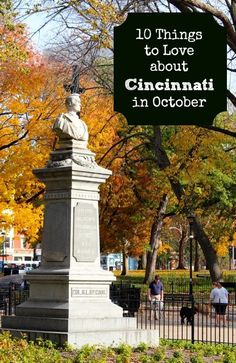"Check our our list of ""10 Things to Love About Cincinnati in October"" and see if you agree!"