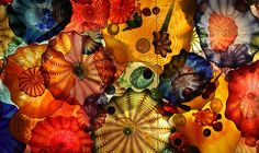 Persian Seaform Ceiling, Dale Chihuly Glass, Oklahoma City Museum of Art, Oklahoma City, OK