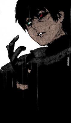 Ken Kaneki The Black Reaper How do you guys like my colouring
