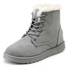 新しい暖かい冬のブーツアンクルブーツ防水雪の女の子のブーツ女性の靴スエードで豪華なインソールbota ş mujer