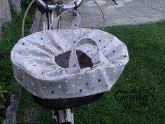 tutorial copri cestino bici bicicletta fai da te 18