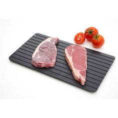 Utensils, Gadgets Thawing Plate Fast Defrosting Tray Frozen Food Kitchen The Safest Defrost Meat & Garden Serving Tray Wood, Lamb Chops, Cooking Tools, Cooking Gadgets, Kitchen Gadgets, Kitchen Stuff, Food Grade, Kitchen Dining, Microwave