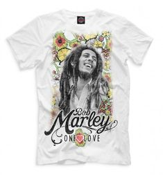 Bob Marley, One Love — фотофутболка — http://fas.st/YxOWiT