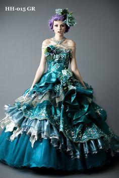 beautiful costume ball gown ballkleid vestido