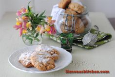 Simona'sKitchen: Spelt Cookies with Olive Oil and Pine Nuts