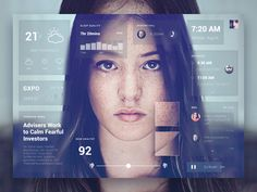 A concept hardware project: Magic Mirror  Explore the possibilities when a regular mirror is turned into an user-interface by recognizing your face.  Don't forget to check the attachment.