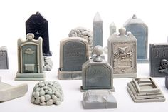23Piece Mini Cemetery or Graveyard Kit for Your by jpants4sale, $62.00