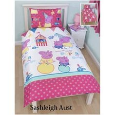 Peppa Pig Peppa Pig Funfair Doona Cover Set - Single. Check it out!