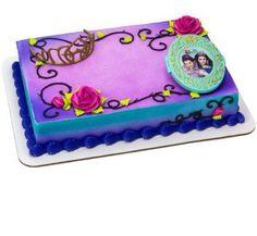 the descendants inspired cake