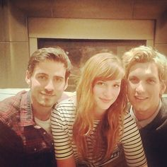 Thanksgiving in my place with @elizaboon and @scottmfoster