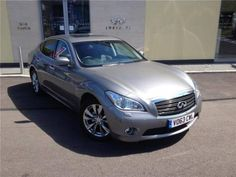 Used 2013 (63 reg) Silver Infiniti M 3.5h GT Premium 4dr Auto for sale on RAC Cars