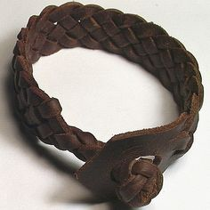 Celtic Weave of Life Spanish Leather Cuff