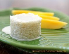 Thai Mango and Sticky Rice Pudding (Khao Nieow Ma Muang) is arguably the best of Thai dessert.