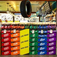 #ThrowbackThursday to one of my proudest (not pun intended, really) moments as a #craftbeer sales rep. Two years ago, I partnered with eight different @wholefoods stores throughout the San Francisco Bay Area on a big, bright, loud and proud  Pride Month beer display with @greenflashbeer. As a proud (and now publicly active) member of the LGBT community as well as a former/current/eternal advocate for #craftbeer, this was a very very special pet project of mine and I will always love and…